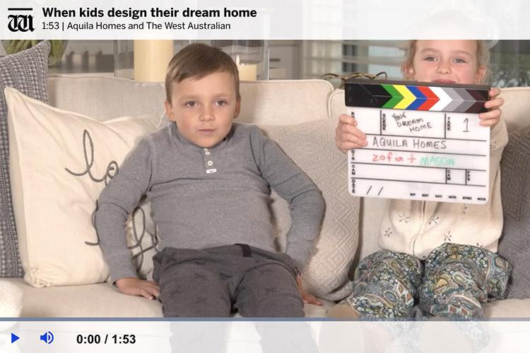 When kids design their dream home